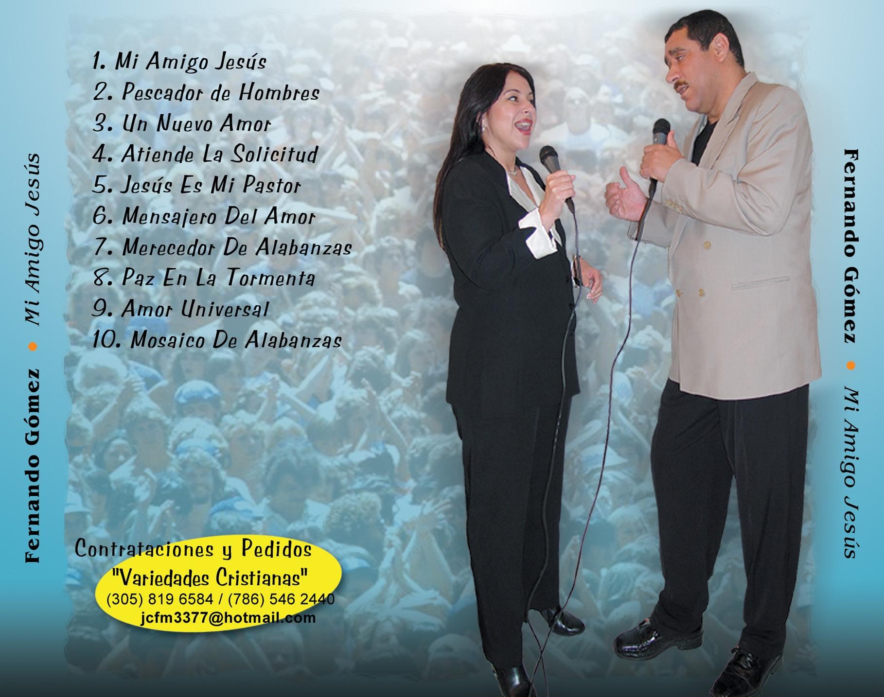 Artwork TRAY CARD & INSIDE Fernando Mi Amigo