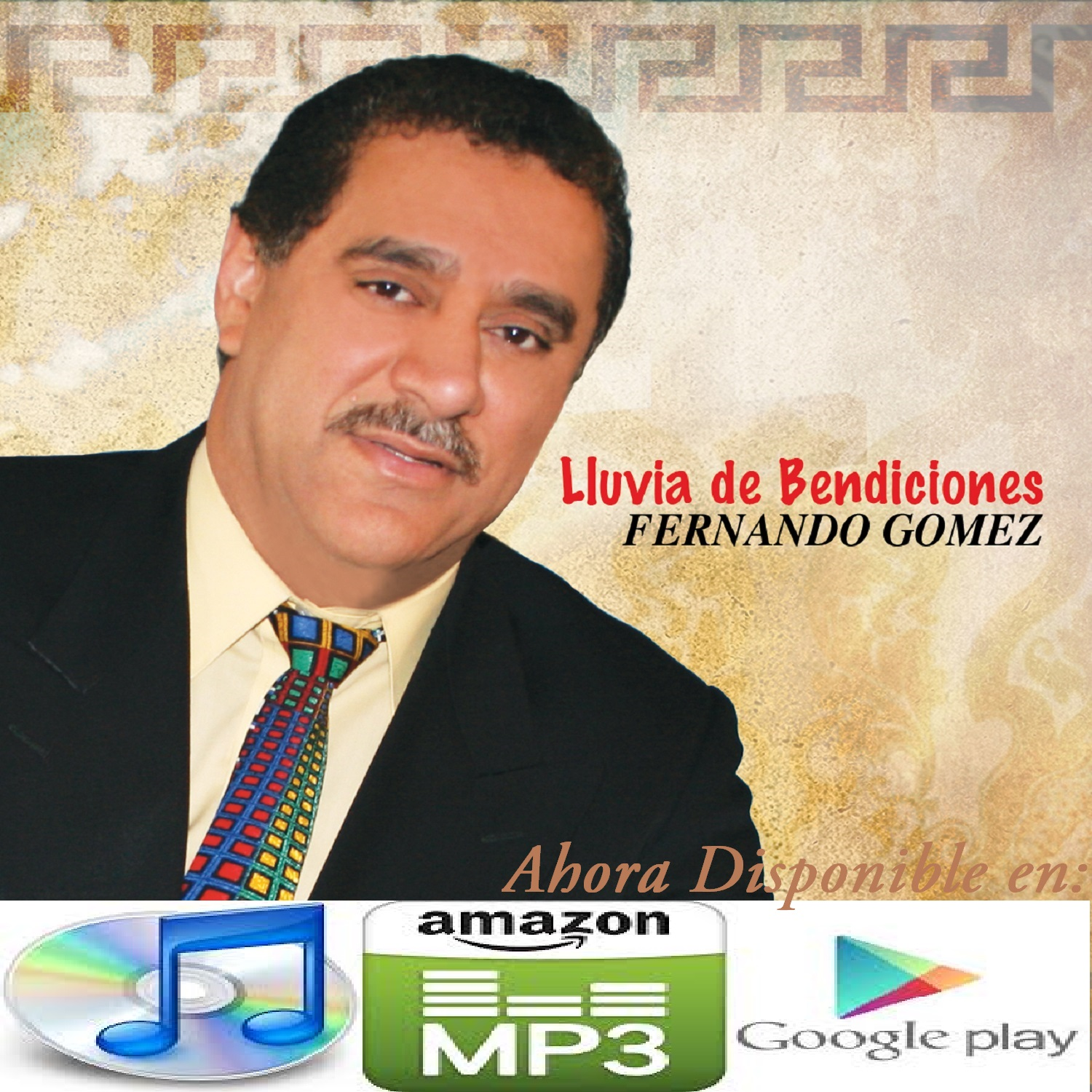 CD JACKET Lluvia Bendiciones - Copy