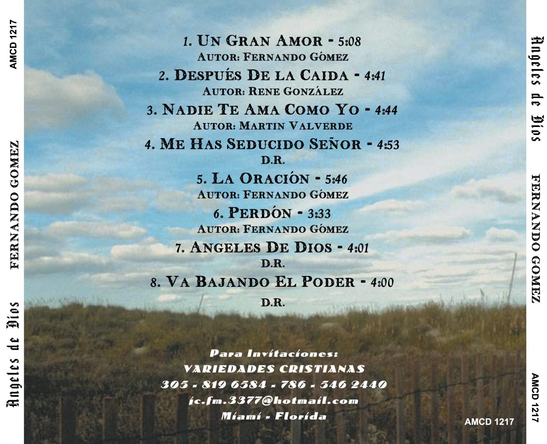 FERNANDO GOMEZ Angeles de Dios